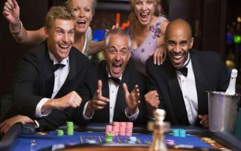 Casinospieler jubeln